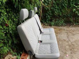 Rear seat for VW TRANSPORTER