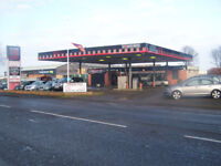 FORMERPETROL STATION CURRENTLY ESTABLISHED BUSY CAR WASH AND CAR SALES OPERATION