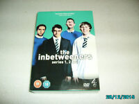 DVD THE INBETWEENERS SERIES 1,2,&3 v.g.c.