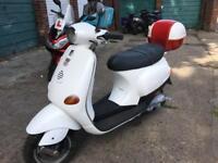 Vespa ET4 125 2003 - Piaggio Zip 2009