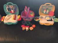 Toddler toys Vtech picnic basket, portable My first Doctors and Kitchen
