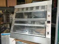 CATERING COMMERCIAL FRIED CHICKEN CABINET DISPLAY FAST FOOD KITCHEN BBQ RESTAURANT SHOP BAR KITCHEN