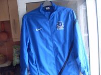 EVERTON FC / NIKE SPORTS COAT AND TOP MEDIUM £15 FOR BOTH !