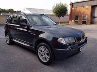 2006 BMW X3 3.0CC DIESEL SPORT,AUTOMATIC,SAT NAV,12 MONTHS MOT