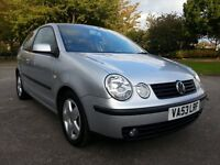 2003(53) Volkswagen Polo 1.4 TDI PD SPORT, Lady Owner From New, Low Mileage