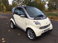 2007 SMART FORTWO CITY PASSION CHEAP £30 TAX