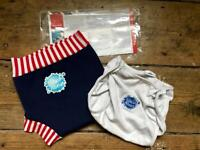 Splash About swim nappy & wrap - cloth real reusable baby toddler swimwear