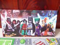 Lego Superheros canvas picture
