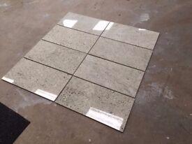 Kashmir White Polished Stone 610 x 305 x 10mm Floor Tiles