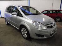 2009 (09) Vauxhall Zafira 1.9 CDTi Diesel Active 7 Seater MPV Silver