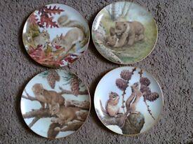 Bradford Exchange Collectors Plates.