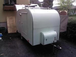 roulotte style teardrop trailer