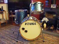 "TAMA Silverstar birch shell pack drum kit. 18"", 12"", 14"" *WILL POST*"