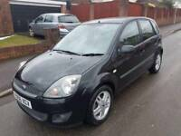'56' Ford Fiesta 1.4 Freedom Bluetooth Black Genuine 57k Mot August 2018