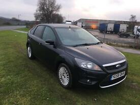 58 REG FORD FOCUS 1.6 TITANIUM 5DR-12 MONTHS MOT-HISTORY INC TIMINGBELT- GREAT LOOKING NEW SHAPE