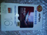 Samsung EVO+ 16GB microsdhc 80 mb/s ultra memory card 10 class