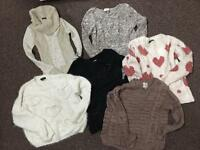 Ladies jumpers size 10 and some size 8 s
