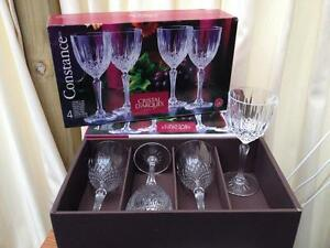 Cristal wine glasses