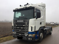 SCANIA LEFT HAND DRIVE