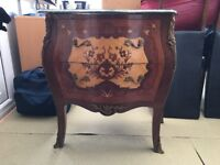 French empire bombe chest of drawers