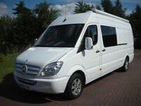 Mercedes Sprinter Race Van / Professional Motorhome Conversion / Leisure Van / 4-Berth