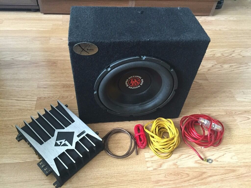 Rockford Fosgate Amp Wiring Kit 10 Dls Kw10 Sub Sealed Box Power 200a1 Mono With