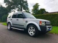 **STUNNING** 2005 LAND ROVER DISCOVERY AUTO TDV6 S A SILVER 2.7 DIESEL 4X4 MP