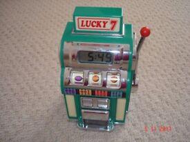 Slot Machine Alarm Clock