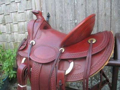 Used, A. C. Byrne (Old Pueblo Saddle Co.) A Fork Roping Saddle for sale  Shipping to Canada