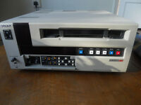 SONY UVW 1800-P Betacam SP Vintage Recorder Deck Player in excellent working condition