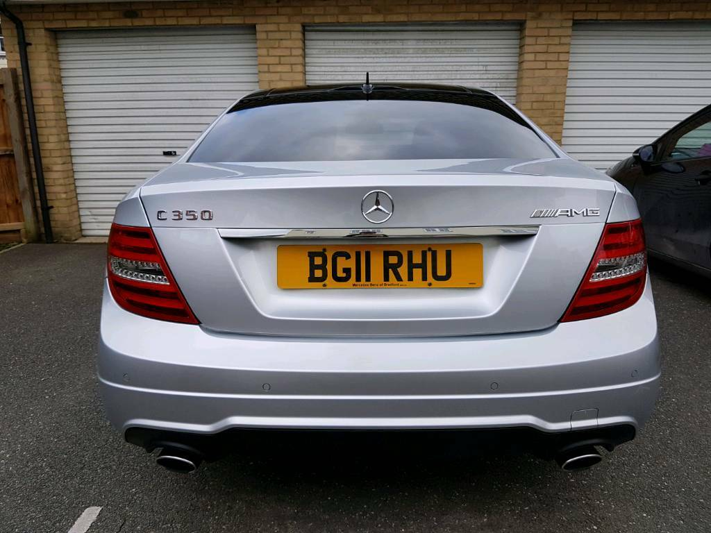 2011 mercedes benz c350 coupe amg sport blueefficency 32k miles 306bhp 40