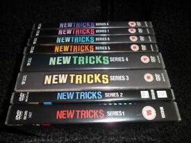 NEW TRICKS ( SERIES 1-8 DVD )