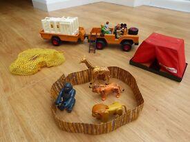 Rare Fisher Price Safari set