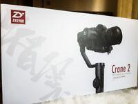 Zhiyun Crane 2 (Brand new)