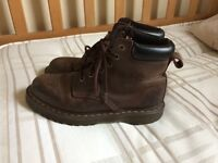 Brown Dr Martens for sale, women's size 5, great condition, £25