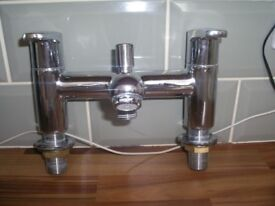 BRISTAN BATH MIXER TAPS AND SHOWER KIT