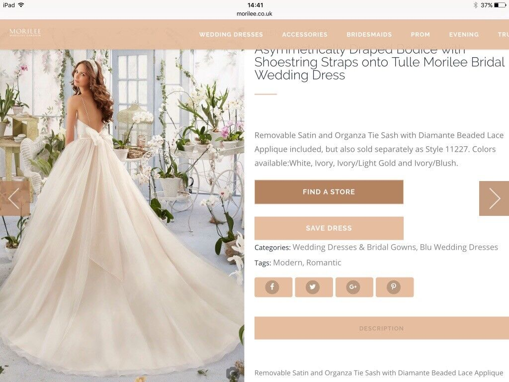Mori lee 5408 wedding dress size 10 brand newemma roy of mori lee 5408 wedding dress size 10 brand newemma roy of edinburgh 500 ombrellifo Image collections