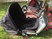 iCandy Apple single stroller with accessories inc parasol and sun shade. Good Cond.