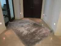 Flair Pearl Silver Rug 160 x 230 Large Good condition