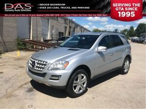 2011 Mercedes-Benz M-Class ML350 4MATIC NAVIGATION/LEATHER/SUNRO