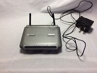 WIRELESS G ROUTER BELKIN F5D9230-4 108 Mbps 10/100 GOOD WORKING ORDER