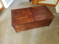 JOHN LEWIS SIDE TABLE / COFFEE TABLE WITH STORAGE