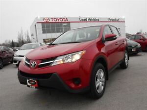 2015 Toyota RAV4 LE FWD TOYOTA CERTIFIED PRE OWNED