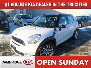2011 MINI Cooper S Countryman AWD / LEATHER / ONLY 84KM