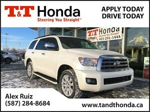 2015 Toyota Sequoia Platinum V8 *Local, No Accidents, DVD*