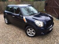 2010 60 MINI Countryman 1.6 One (Salt pack) 5dr (start/stop).. BEST PRICE IN THE UK!! ONE OWNER!!