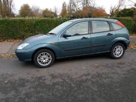 FORD FOCUS 1.8 TDCI 2003 1 YEAR MOT NEW DISCS AND PADS NEW BATTERY DRIVES REALLY WELL BARGAIN £595