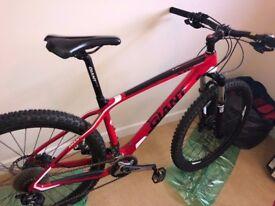 bike . Giant Advanced . 3. X.T.C carbon fibre