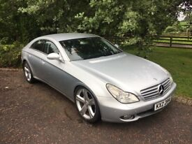 For sale 2005 diesel Mercedes Cls coupe