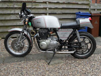 Kawasaki Z400 Cafe racer project - sell swap bike only £895 for quick sale